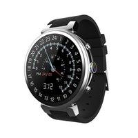 3g carte sim regarder les téléphones achat en gros de-Android 5.1 3G Smart Watch Téléphone 1.3GHz Carte SIM 1.3inch TFT Écran Tactile BT 4.0 GSM WCDMA WiFi Caméra Podomètre Smartwatch