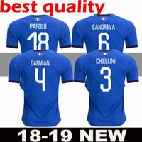 ba5f90ab3d61f Copa Mundial de Italia 2018 Inicio Adultos Fútbol Camisa Totti Pirlo  Insigne Del Piero Camisetas de fútbol Camiseta de fútbol de Italia Kit  Maillot hombres