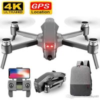 Wholesale drones wifi camera resale online - D4 Drone GPS Quadcopter HD K P FPV M WIFI Live video KM control distance Flight minutes drone with Camera Dron Toy