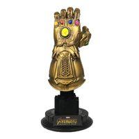 mücevher figürleri toptan satış-Dayağı Thanos Gem Eldiven Modeli Avengers Infinity Savaş Action Figure Film Ünlü Oyuncak Çocuk Boy Popüler 86sl D1