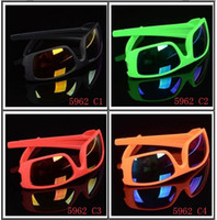Wholesale sunglasses nice for sale - Group buy summer newest style man sport sunglasses Cycling glasses woman NICE FACE Take the sunglasses Dazzle colour glasses Colors