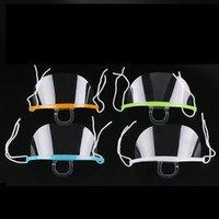 ingrosso plastica usata-Bocca con sputo Guardia Servizio maschera utilizzata nel Ristorante Hotel plastica trasparente maschera di protezione per Cook Cameriere / Bar antigelo Mask RRA2132