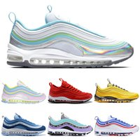 Wholesale cotton jersey fabric online - Triple White Black Running Shoes for Men Women Undefeated All Star Jersey South Beach Silver Bullet Mens Trainer Sports Sneakers