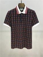 Wholesale mens golf polo shirt xl for sale - Group buy Luxury men s designer polo shirt high quality men s British style designer golf shirt mens Lapel short sleeve tennis shirt HMPL6