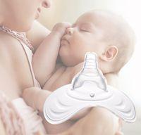 silikon kalkanlar toptan satış-Anneler Meme Shields Koruma Kapak Emzirme Anne Sütü bebek Silikon Meme B1 Besleme Silikon Ucu Koruyucular