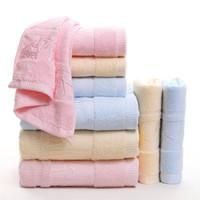 küchentuch druckt großhandel-100% baumwolle bambus wald dicken weichen druck towel set für erwachsene kinder küche hand hotel spa gesicht haar bad towel havlu toallas