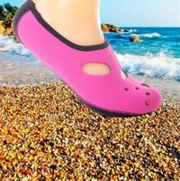 yüzme neopren kıyafeti toptan satış-Yeni Su Sporları Neopren Dalış Çorap Anti Patinaj Plaj Çorap Yüzme Sörf Neopren Çorap Yetişkin Dalış Botları Islak Elbise Ayakkabı
