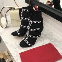sandalias desnudas hombres al por mayor-Nuevos zapatos sandalias diseñador de moda hombres mujeres zapatos de lujo venta caliente desnudo azul rojo negro zapatillas Botines de cuero genuino fondo plano