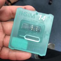 ingrosso sblocco della mela-Nuova RSIM14 RSIM 14 Unlock Card per iPhone Compatibile con TUTTI IOS e Modello con spedizione gratuita