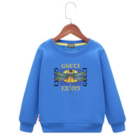 Wholesale full package product online - Kids Brand Hoodies Package Mail Children Winter Clothes New Product Leisure Time Jacket Plus Cashmere Thickening Cartoon