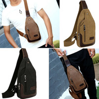 bretelles pour sacs à dos achat en gros de-Sacs à dos à bandoulière Sacs Mode Sac à dos Crossbody Rope Triangle avec sangle réglable pour la randonnée polyvalente Daypacks pour hommes Femmes