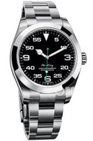 ver hots al por mayor-2019 caliente de lujo de venta Air King acero inoxidable Cristal de zafiro Espejo mecánicos automáticos del reloj para hombre Relojes de pulsera