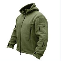 Wholesale bamboo tactical resale online - New Military Tactical Outdoor Softshell Fleece Jacket Men s Army Polartec Sportswear Thermal Hunting Hiking Sport Hoodie Jacket