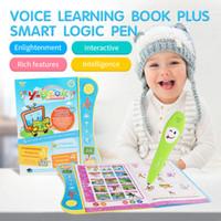 libro de voz al por mayor-Nueva Moda Niños Inglés electrónica de lectura de voz Machine Learning libro educativo Juguetes para niños Moda de libros electrónicos de aprendizaje