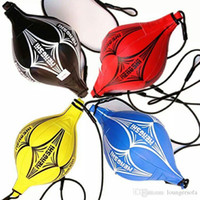 Wholesale punching speed bag resale online - Boxing Speed Ball Suspension No Deformation Vent Balls Durable Colorful PU Texture Of Material Stretchable Warriors Bag Hot Sell ms J