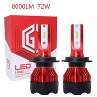 Wholesale 12v bright led headlights for sale - Group buy 8000LM Super Bright Turbo H1 H7 H11 H4 Led Lamp V V K5 Car Front Headlight H13 H7 Led Bulbs