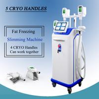 brûler la graisse du visage achat en gros de-Cryothérapie machines de traitement de la graisse Cryothérapie traitements du visage Cryolipolyse Cryothérapie Matériel de congélation de la graisse Remodelage de la peau