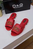 ingrosso tacchi perla in pelle di pecora-Nuove scarpe da donna di marca di fascia alta estate pistoni di pelle di pecora tallone delle donne scarpe casual da 35 a 43 metri liberi di merci