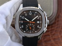 c assistir venda por atacado-Luxo marca mens ppg-5968a-001 relógio de luxo 28-520 C movimento mecânico automático pulseira de borracha com fundo transparente