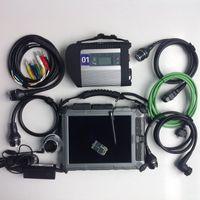 Wholesale best tablet online - Best quality MB Star C4 X entry mini ssd V ediamo Soft ware ix104 tablet