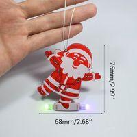 Wholesale candle diy resale online - DIY Santa Claus Christmas Tree Decoration Pendant Music Kit LED Electronic Kits Jan