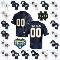 da5078503 justin jersey Canada - Mens Custom NCAA Notre Dame Fighting Irish Football  Jersey Nicco Fertitta Alize