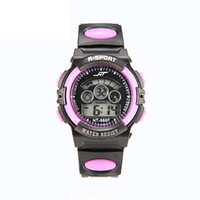 Wholesale kids electronics online - New kids children boys students mens multi function sport led light digital watch mens women outdoor electronic gift watches