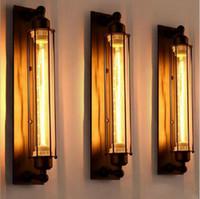 lâmpada industrial de parede estilo vintage venda por atacado-Antiguidades Estilo Vintage Loft Edison Vintage Industrial Lâmpada de Luz da lâmpada bar resturent Pingente Lâmpadas de teto Lustre de Luz