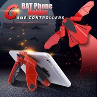 стенд для игр оптовых-Bat Phone holder многофункциональный игровой ручки автомобильный держатель телефона стенд
