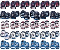 Wholesale ice hockey winnipeg resale online - Winnipeg Jets Jerseys Mens Blake Wheeler Jersey Mark Scheifele Dustin Byfuglien Womens Ice Hockey Jerseys Stitched Youth