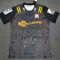 Wholesale new jersey c resale online - Goods in stock New Zealand Super Rugby Jerseys C HIEFS home jersey League shirt c hiefs rugby Jersey big size s xl
