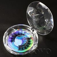 vison véritable fourrure achat en gros de-JOVO BEAUTY Supply DHL 3D cils de vison avec package de conception personnalisée ronde 100 sibérienne véritable cils de fourrure de vison