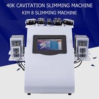 cavi lipo minceur achat en gros de-6 IN 1 ultrasons Cavitation machine 40K Cavitation Lipolaser RF Vaccum Amincissant Perte de poids Cavi Lipo contournage Équipement