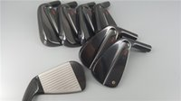 Wholesale iron headcover set for sale - Group buy AF Tour MB Black Golf Irons Golf Iron Clubs P Steel Graphite Shaft with Headcover