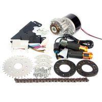 комплекты 36v оптовых-24V / 36V 350W электрический левый привод велосипед DC мотор преобразования комплект MY1016 бритва скутер переменной несколько скорость Ebike комплект