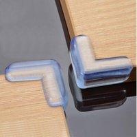 новые столы для детей оптовых-New Baby Care Уголок безопасности для детей Защитный мягкий ПВХ Рабочий стол Стол Защитный край Защитная крышка Безопасная подушка