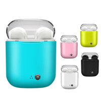 Wholesale bluetooth mini universal for sale - Group buy I7S TWS Wireless Bluetooth Headphones Earbuds Earphones with Charging Box Twins Mini Bluetooth Earbuds for iPhone X IOS Android with Retail