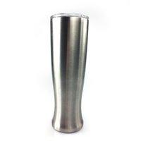 gläser formen farbe großhandel-Art und Weise 30oz Pilsner formte Becher-doppelte Schicht-Vasen-Trommel-Edelstahl-Bier Pilsner-Gläser im Freien kampierender trinkender Kaffee-Tee-Bierkrug
