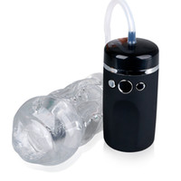 Wholesale realistic sex toys for males for sale - Group buy 10 Speed Vibrating Male Masturbator Sex Products Strong Suction Oral Masturbation Cup Deep Throat Silicone Sex Toys For Men