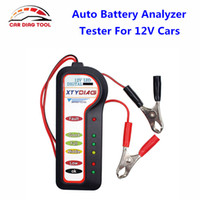Wholesale high voltage testers resale online - 2017 High Quality Diagnostic tool Auto Digital Battery Voltage Tester Battery Analyzer Check Volt For V Cars Diagnostic Tool