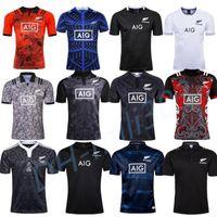 camisa alaranjada do rugby venda por atacado-2019 2020 Rugby Jerseys de melhor qualidade aniversário de 100 anos Edição Comemorativa tamanho camisa de rugby S-3XL