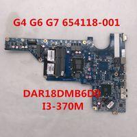 hp pavilion laptop motherboard cpu venda por atacado-Alta qualidade para Pavilion G7 G4-1000 G6-1000 Laptop motherboard 654118-001 DAR18DMB6D0 Com i3-370M CPU Intel HM55 8GB DDR3 100% cheio Testado