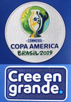 Conmebol Copa America Brazil 2019 Patch Copa America Patch 2019 Cree en grande badge Copa America Soccer patches Free shipping