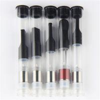 vaporizador directo al por mayor-China directa 510 S Pen cartuchos de pluma vaporizador de aceite espeso .5ml tubo 1 ml PP Bud táctil vaporizador de Vape cartuchos de petróleo atomizador
