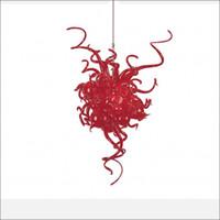 typen kronleuchter großhandel-moderne geführte Leuchter preiswerter Preis-kleiner Leuchter, der traditionelle Art künstlerische Art-italienische geblasene Glasleuchter beleuchtet