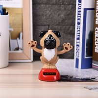 Wholesale swing magic for sale - Group buy Magic Solar Powered Dancing Dogs Swinging Bobble Toy Gift Car Decoration Novelty Happy Dancing Solar animal Toys For Children
