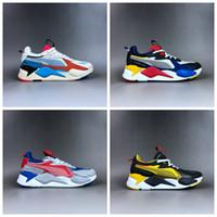 ingrosso giocattoli di progettazione-Puma rs shoes pumas Nuovo marchio RS-X RS Reinvention Toys Scarpe da corsa da uomo Hasbro Transformers Casual Donna rs x Designer Sneakers scarpe da babbo Taglia 36-45