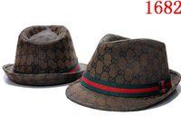 Wholesale wool bucket hats women for sale - Group buy Brand Designers Leather Letter Bucket Hats For Men Women Foldable Caps Black Fisherman Beach Sun Visor Sale Folding Man casquette Bowler Cap