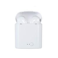 micrófono de aire al por mayor-Nuevo i7S TWS Auricular inalámbrico Bluetooth Auriculares Bluetooth Auriculares Auriculares inalámbricos Auriculares con caja de carga Regalo de micrófono para Android IOS