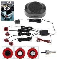 sensores de respaldo automático al por mayor-Accesorios posteriores Asistencia 16.5mm Auto Car Sensor de estacionamiento plano original Sistema de estacionamiento de video del automóvil Reverse Backup Radar Sound Buzzer A ...